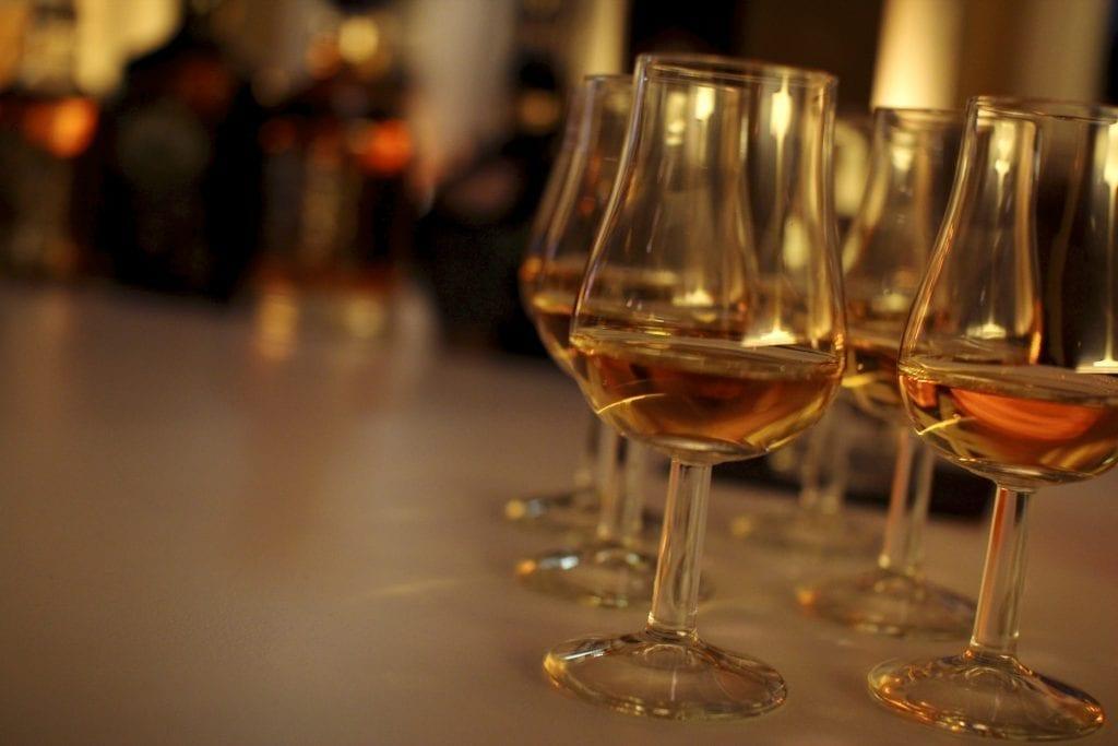 Whisky Proeverij - glazen | Proost in Breda